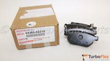 Toyota Corolla 09-18 Matrix 08-14 FWD Rear Brake Pad Set Genuine OEM 04466-02310