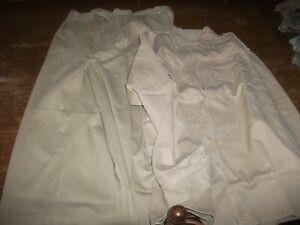 lot équipement militaire tenue veste et pantalon guerre  Indochine