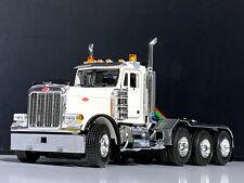 "PETERBILT TRUCK WSI MODELS(379 8x4 DAY CAB)""WHITE"" 1:50"