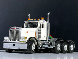 "PETERBILT TRUCK WSI MODELS(379 8x4 DAY CAB)""WHITE"" 1:50"