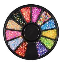 Diamonds Dazzling Tips Sequins Colorful