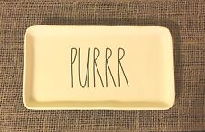 "Rae Dunn by Magenta ""PURRR"" Pet Tray *NEW*"