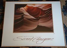 A Slot Canyon Michael Fatali Secret Canyons Signed Photo Poster Poetry in Motion