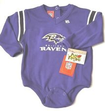 NFL Baltimore Ravens Size 12 Months Infant One Piece Long Sleeve Purple