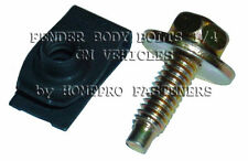 1/4 FENDR BOLTS SHRT FLDOVER U NUTS FOR BUICK CADDY FOR CHEVY OLDS PONT (9515GM)