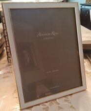 GOLD  PICTURE FRAME WITH WHITE  ENAMEL 8 X 10