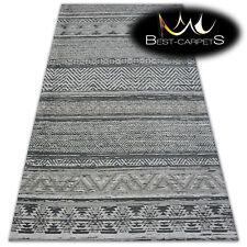 Acrylic Carpets STYLISH MODERN RUG 'ANTIKA' Antique, grey, geometric, durable