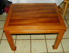 Mid Century Walnut & Ash End Table / Side Table by Lane  (RP) (T468)