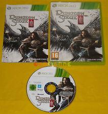 DUNGEON SIEGE III 3 XBOX 360 Versione Ufficiale Italiana 1ª Edizione •• COMPLETO