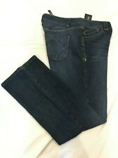 (*-*) LANE BRYANT * Womens DISTINCTLY BOOT Blue Jeans * Size 20 Average * NWT