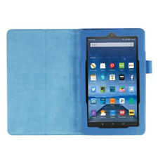 For Amazon Kindle Fire HD 7 2015 Tablet PU Leather Case Stand Cover (Sky Bl E5S3