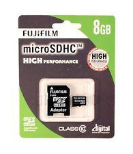 FujiFilm 8GB High Performance Micro-SDHC Class 10 Memory Card.