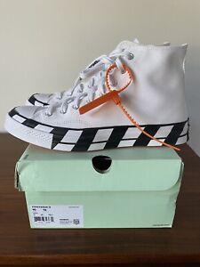 Off-White x Converse Chuck Taylor 70 Hi 163862C Size 10M 12W Brand New DS