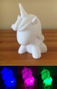 Colour Changing LED Unicorn Mood Night Light