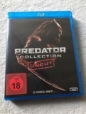 Predator Collection 1,2,3 * Uncut * Blu-ray * FSK 18