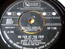 "BOBBY GOLDSBORO - NO FUN AT THE FAIR   7"" VINYL"