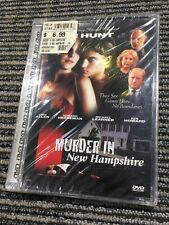 Murder in New Hampshire (1991 Release Jewelbox 2001 DVD) Helen Hunt NEW SEALED