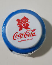 COCA COLA COKE YOYO OLYMPICS BLUE LONDON 2012 SEALED IN PLASTIC! PROMOTIONAL!