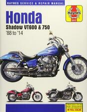 Haynes HONDA SHADOW VT750 AERO VT750C PHANTOM C2B Owners Service Manual Handbook