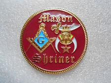 "NEW DESIGN Masonic - Shriner Car Emblem 2"" (PSC081) *"