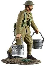 W Britain 23064 British Infantry Walking With Rations WWI 1/30 Scale Toy Soldier