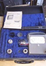 ALNOR VELOMETER FPM 0-6000 TYPE 3150 w/booklets, attachments and case.  Very Nic