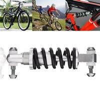 Bicycle Mountain Bike Rear Suspension Spring Shock Absorber Black For MTB