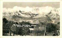 1920s Mt Graham Safford Arizona Elevation 10,500 RPPC Photo Postcard 8001