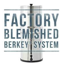 Royal Berkey BLEMISHED Water Filter Purifier System 2 Black Filters New