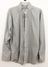 Men's Adolfo Tuxedo Shirt French Cuffs 15 1/2 33
