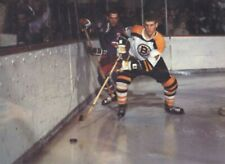 BOBBY ORR BOSTON BRUINS VS PHIL GOYETTE  NEW YORK RANGERS HOCKEY PHOTO  8X10