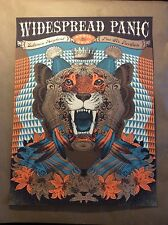 Widespread panic poster Pier 6 Baltimore Md. 4/26/2015 Justin Helton screenprint