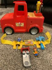 Disney Handy Manny 2-in-1 Transforming Talking Tool Truck Tools Work Bench BELT