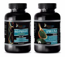 Parasite remover - ANTIPARASITE – SPIRULINA COMBO - garlic tablets odorless