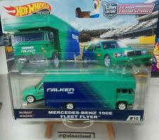 Hot Wheels Team Transport Mercedes-Benz 190E Fleet Flyer #10
