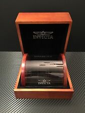 Invicta Wood Display Case Collectors Watch Box 1 slot!