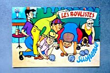 CPM - LES BOULISTES/ SUSPENSE   réf 01