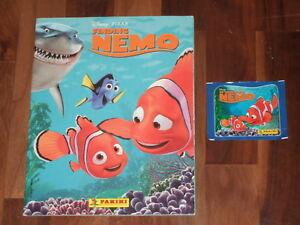 Disney's Finding Nemo 2003 Complete Panini Sticker Album & more!!...