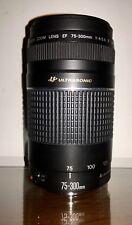 Canon Obbiettivo Zoom EF 75-300 mm f/4-5.6 III USM - Per reflex analogica Canon