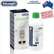 Genuine DeLonghi Descaler Cleaner Espresso Coffee Machine - 500ml - EcoDecalk