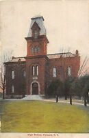 New York NY Postcard c1910 FAIRPORT High School Building
