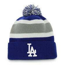 MLB Wollmütze L.A. LOS ANGELES DODGERS cuffed knit hat Pommel Mütze
