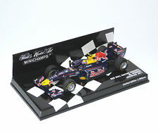 F1 Red Bull Racing Renault Showcar 2011 #2 Mark Webber Minichamps 410110072 1:43