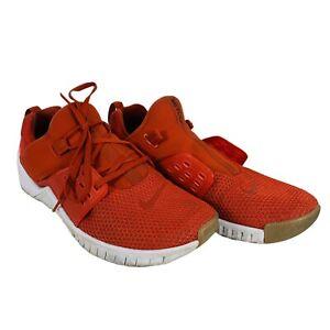 Nike Men's Free X Metcon 2 Mystic Red Red Orbit Gum Training Shoes Size 10
