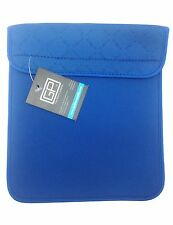 Golden Pacific Blue Business Tablet Book Portfolio Protective Case Cover Velcro