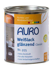 AURO Classic Weißlack Nr. 935 glänzend 0 75 Liter