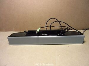 DELL AS501 0UH837 UH837 MULTIMEDIA AUDIO SPEAKER SYSTEM SOUND BAR + AUDIO CABLE