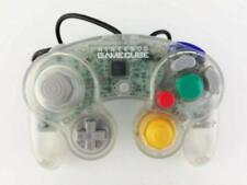 Nintendo Official GameCube Wii Controller Pad Clear GC Japan USED