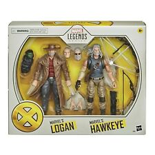 Marvel Legends Hawkeye and Logan X-Men Series Action Figure 2 Pack NIB In Hand