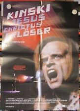 KINSKI - JESUS CHRISTUS ERLÖSER - KLAUS KINSKI Filmplakat Poster